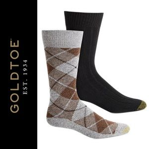 Gold Toe 4 Pairs of Socks Lodge Collection